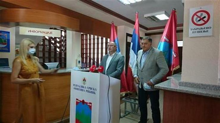 Milorad Dodik u Ribniku