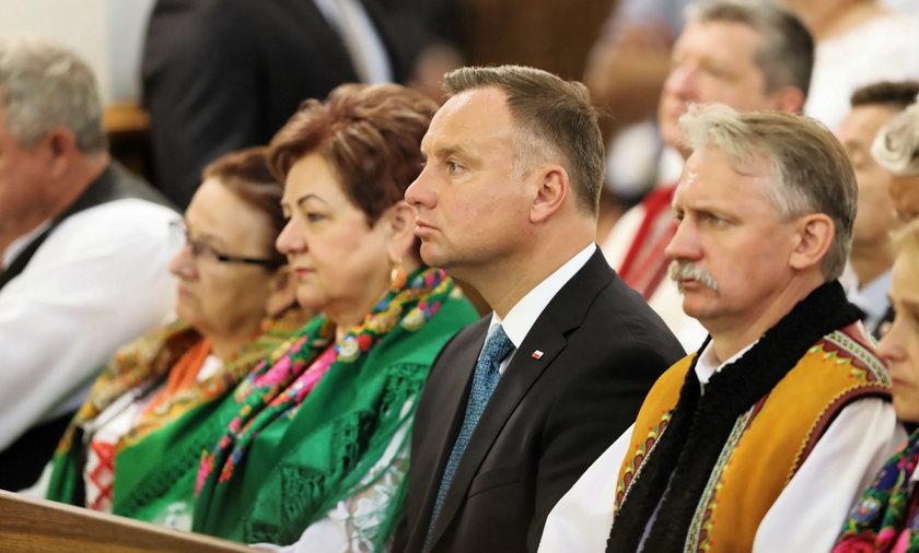 Andrzej Duda w Nowym Targu