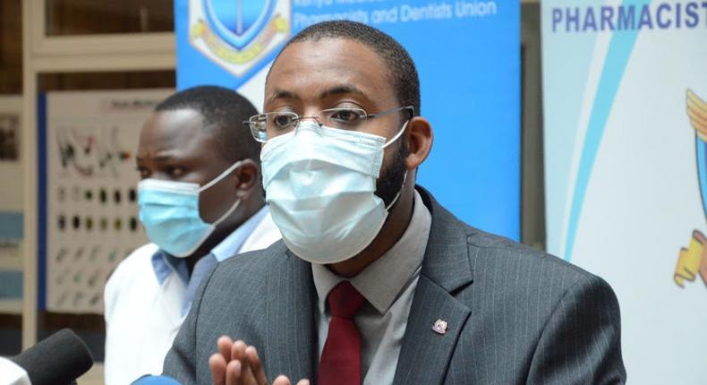 KMPDU Secretary General/ CEO Chibanzi Mwachonda