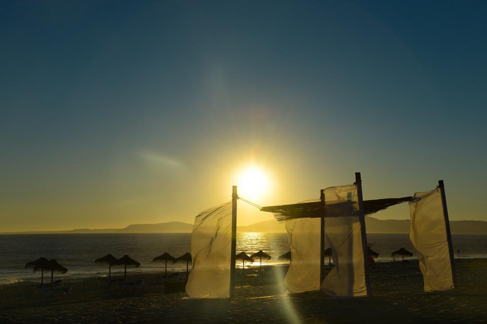 Praia da Comporta - uznana za najpiękniejszą plażę Portugalii...