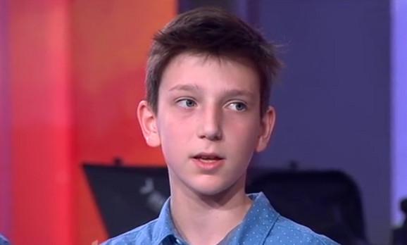 Ognjen Srzentić, učenik sedmog razreda