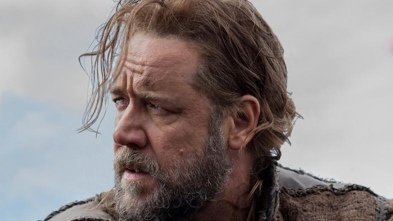 Russell Crowe jako brodaty Noe