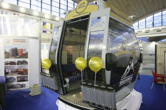 Jedna od 55 kabina: Oprema za gondolu plaćena 10 miliona evra