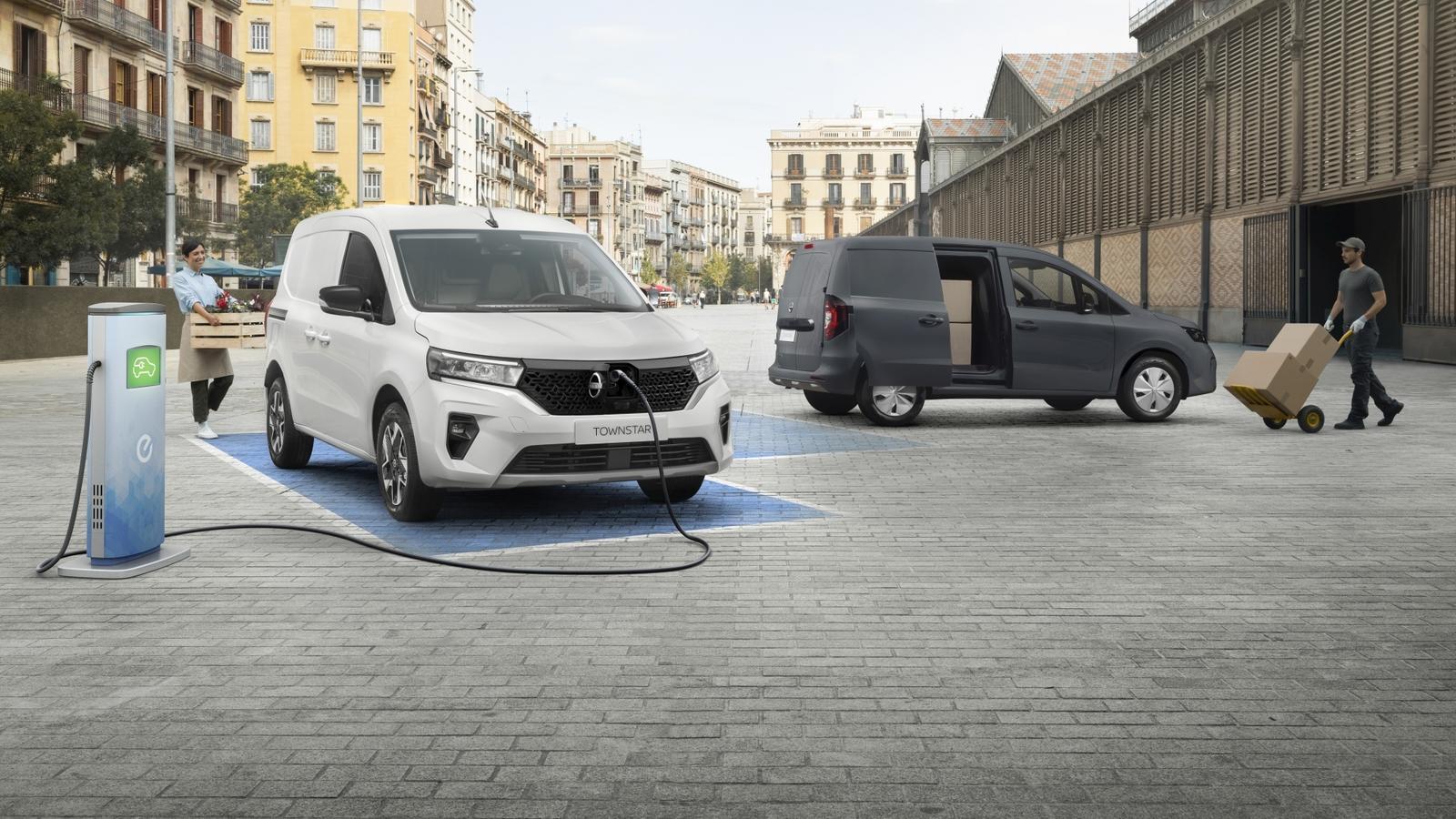 Nowy Nissan Townstar - koniec diesla w dostawczym modelu