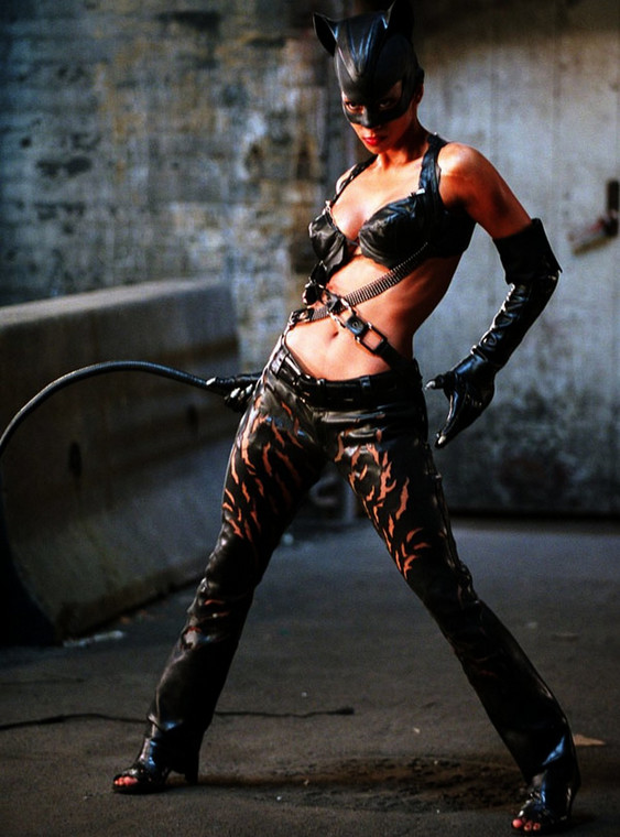 "Halle Berry jako ""Catwoman"" (2004)"