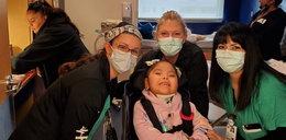 4-letnia dziewczynka opuściła szpital po prawie rocznej walce z COVID-19