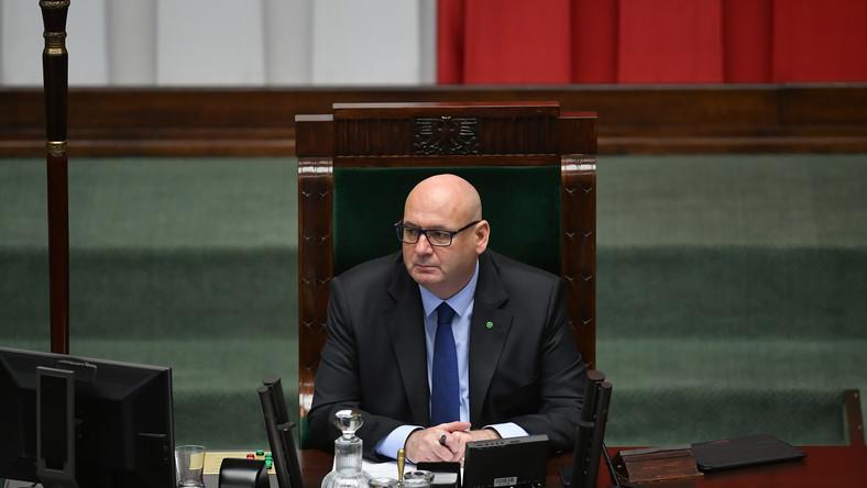 Wicemarszałek Piotr Zgorzelski