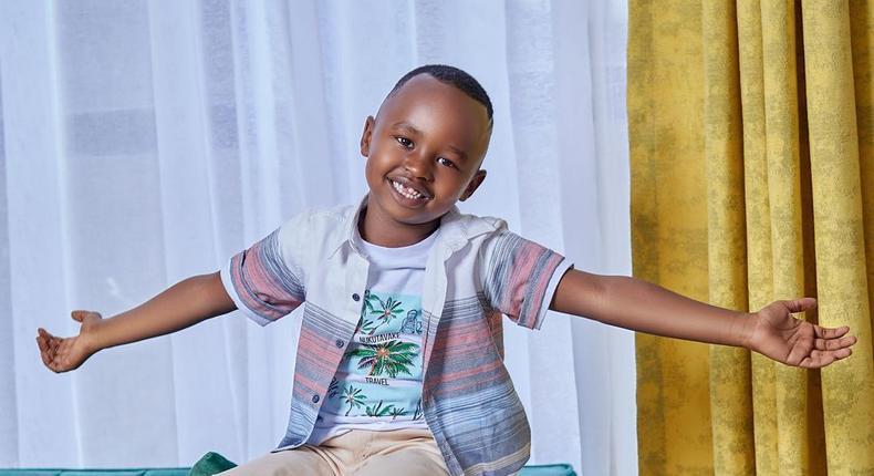 Mercy Maluli's 6 year old son, Brayden.