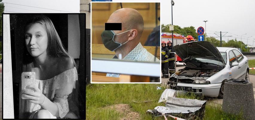 Pijany przekroczył prędkość i wjechał na czerwonym. Zginęła 17-letnia Gabrysia. Prokuratura żądała 25 lat, sąd był jednak łaskawszy