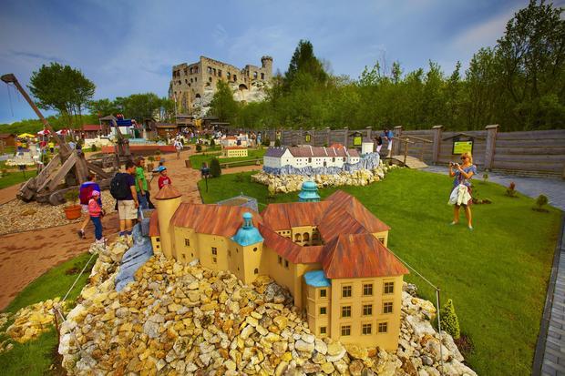 Park Miniatur Ogrodzieniec w Podzamczu