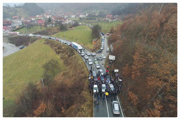 crna gora protest blokade