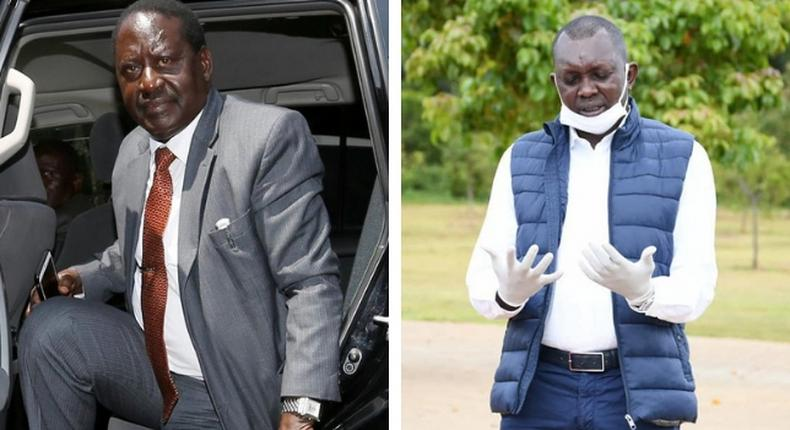 Oscar Sudi, Raila Odinga deny discussing politics during much-talked about lunch meeting