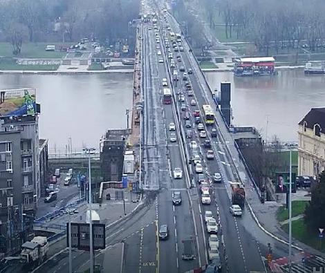 Bez gužvi na Brankovom mostu