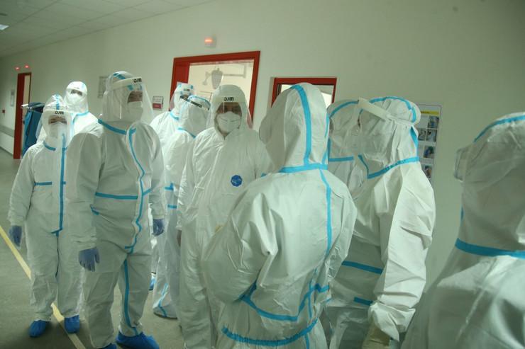 korona virus - medicinski radnici - UKC RS