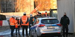 Śmiertelny wypadek na budowie metra w Warszawie