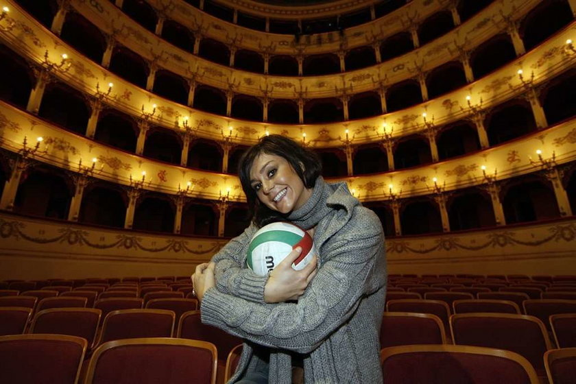 Skowrońska w Italii jest gwiazdą