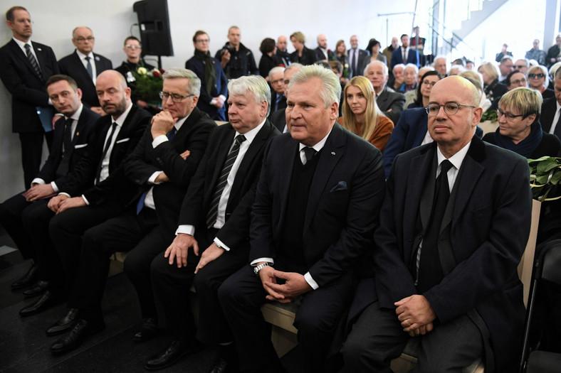 Uroczystości pogrzebowe profesora Karola Modzelewskiego