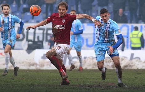 Derbi Sarajeva i Željezničara je odigran u teškim uslovima