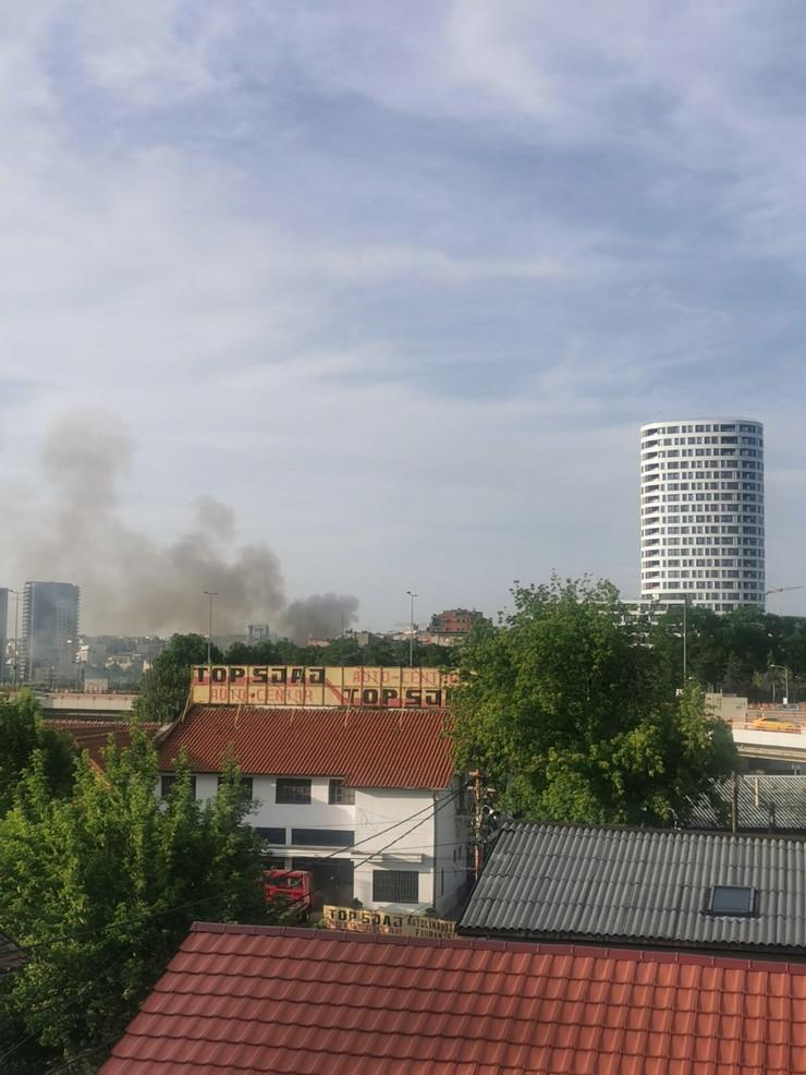 Požar, Savska ulica
