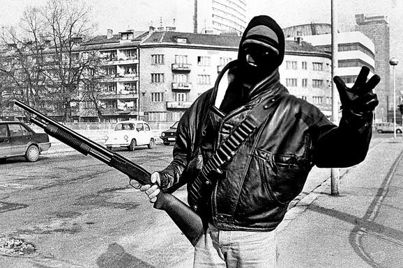 Sarajevo, 1992.