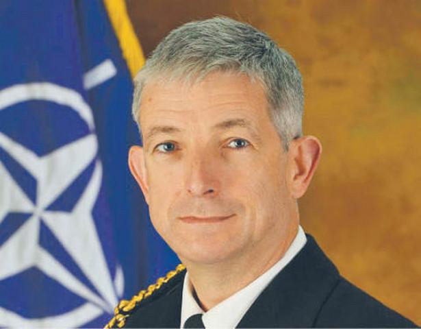 Admirał Sir Clive CC Johnstone, szef Dowództwa Morskiego NATO (MARCOM)