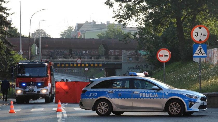 Horror w Brzegu. Pijany kierowca przejechał po leżącym na ziemi mężczyźnie