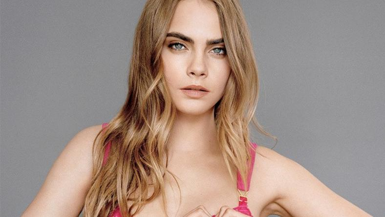 Cara Delevingne fronts campaign for Stella McCartney's 'Alina' range for breast cancer awareness month