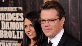 Matt Damon osiwiał przez córki