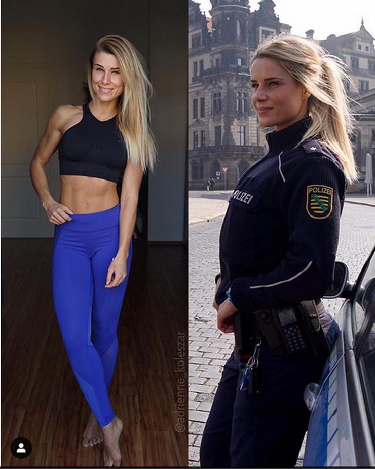 seksi policajka