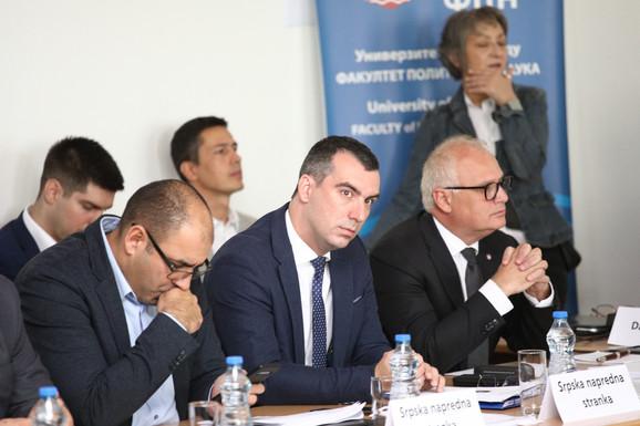 Đukanović, Orlić, Vesić