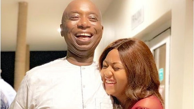 See video of Regina Daniels and hubby Ned Nwoko as they party at Abuja nightclub