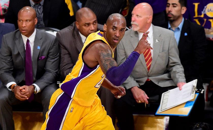 Nie żyje legendarny koszykarz Kobe Bryant