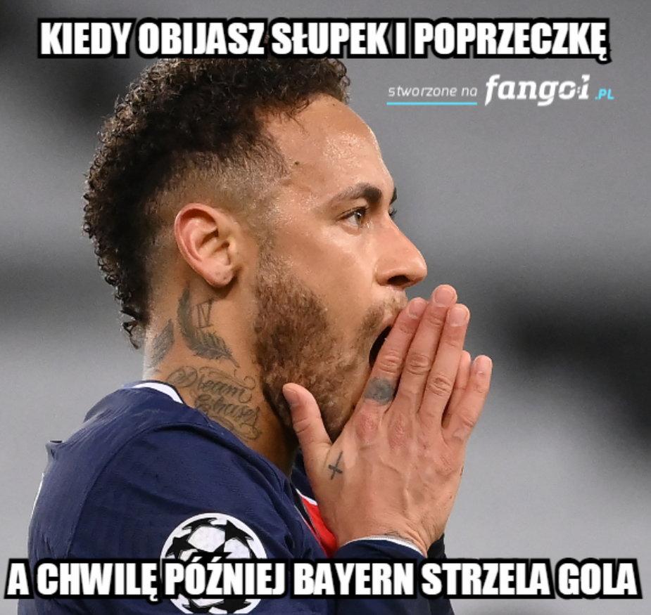Memy po meczy PSG - Bayern Monachium
