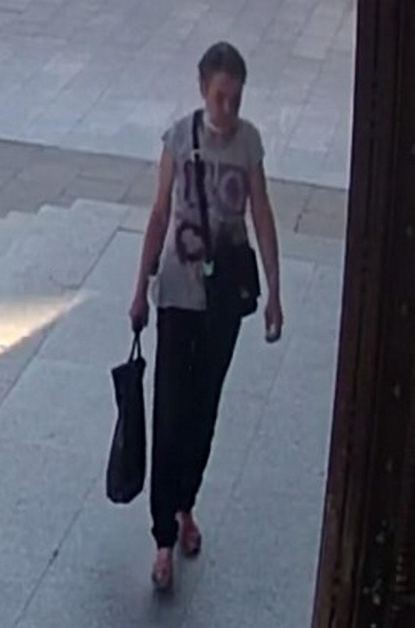Policja z Łodzi poszukuje tej kobiety