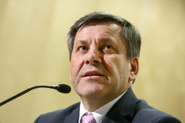 Wicepremier i minister gospodarki Janusz Piechociński.