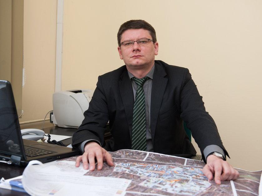 Lucjan Goczoł, kier. wydz. strategii i funduszy europejskich UM w Bytomiu