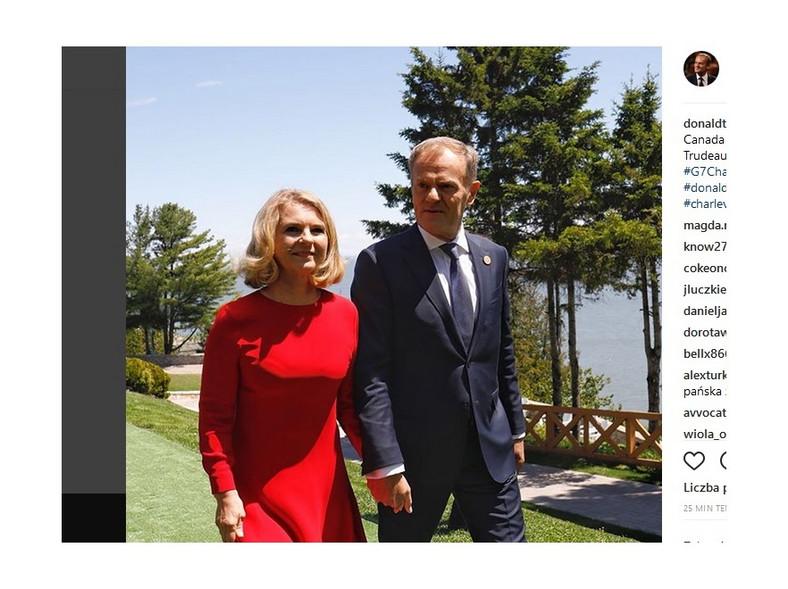 Małgorzata i Donald Tuskowie