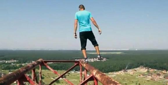 Ukrajinac obožava visinu