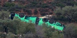 Autobus runął z kilkudziesięciu metrów. Wiele ofiar