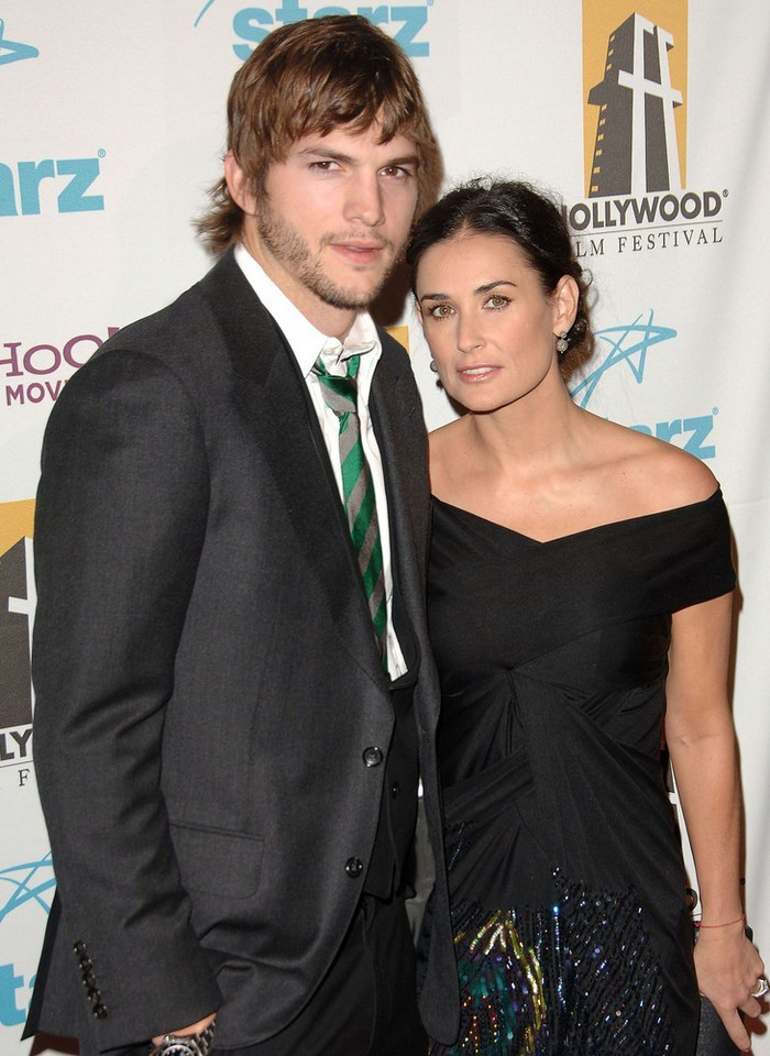 4. Ashton Kutcher i Demi Moore