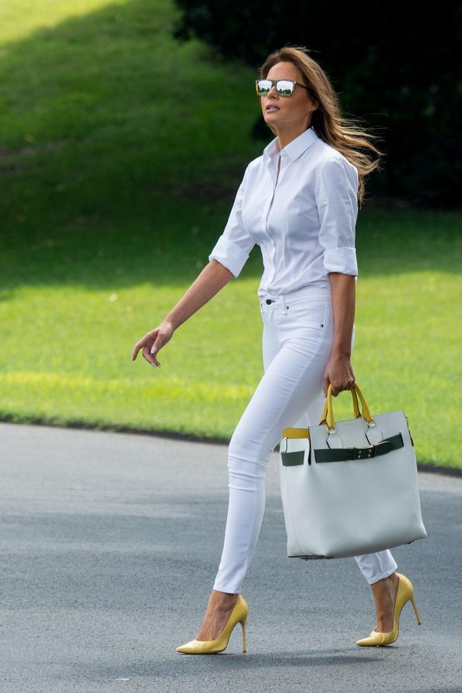 Melanija je pravo modno osveženje