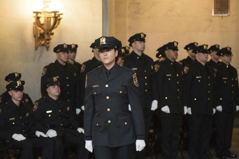 Policjantka Kristen Hyman grała w firmach porno