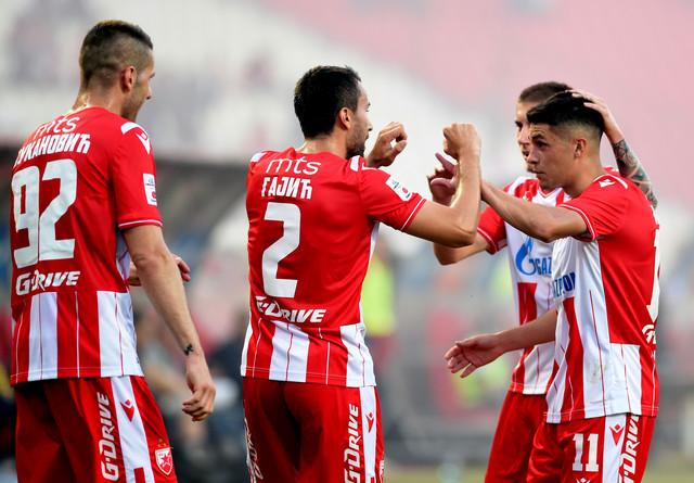 Detalj sa meča FK Crvena zvezda - FK Proleter
