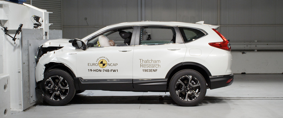 Crash-test Honda CR-V