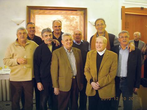 Dragutin Čermak, Damir Šolman, Nikola Plećaš, Vinko Jelovac, Ranko Žeravica, Ivo Daneu, Petar Skansi, Boris Kristančič (glavni organizator) i Rato Tvrdić