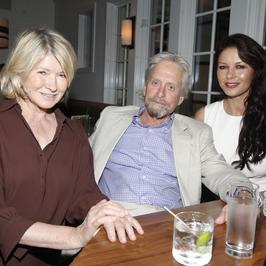 "Michael Douglas i Catherine Zeta-Jones razem na premierze ""And So It Goes"""