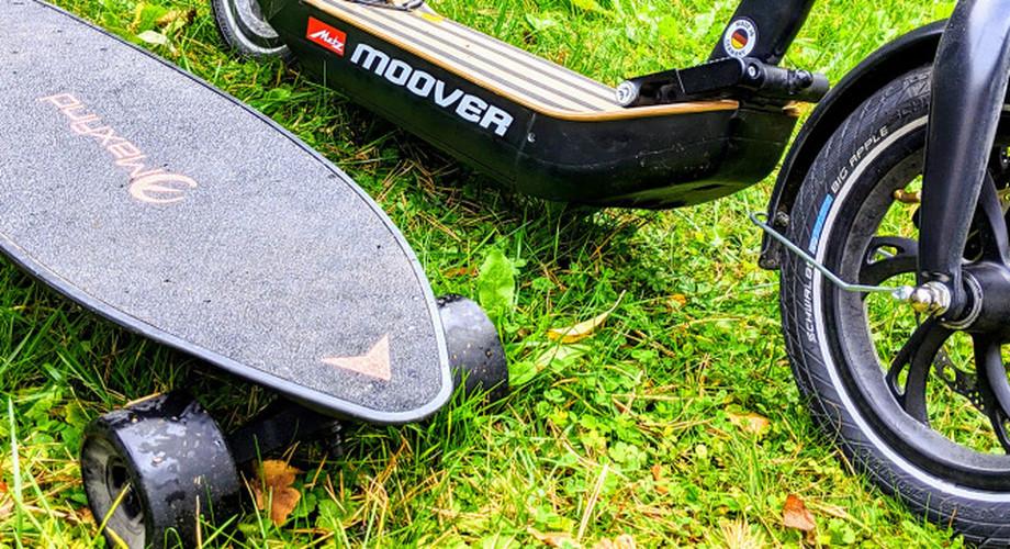 E-Scooter oder E-Skateboard? Die bessere Lösung für Pendler