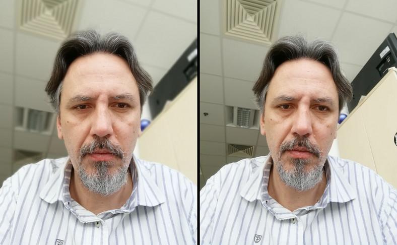 Honor 9 Lite - efekt bokeh, kamera do selfie