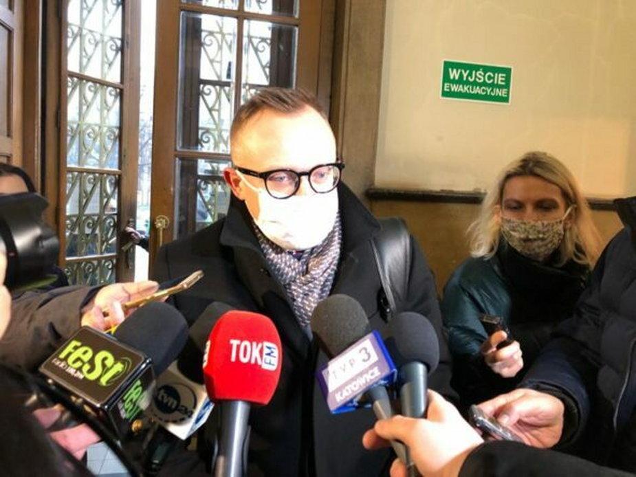 Wiceminister aktywów państwowych Artur Soboń / Fot. Bartłomiej Sawicki