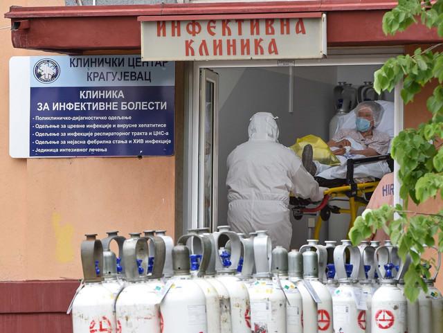 Infektivna klinika u Kragujevcu